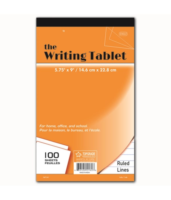 100ct writing tablet 48s