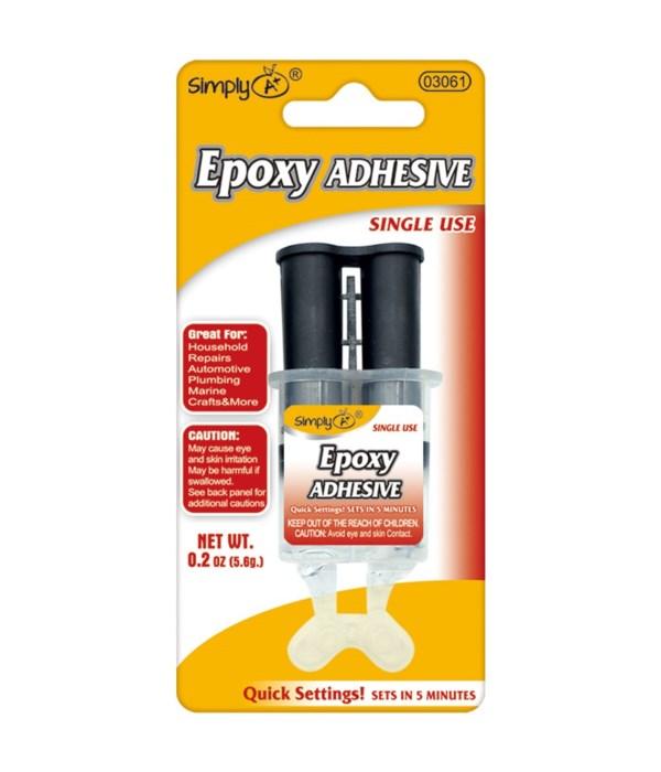 quick setting epoxy glue24/144
