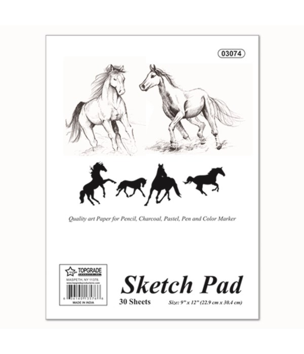 "sketch pad 9x12""/30ct 48s"