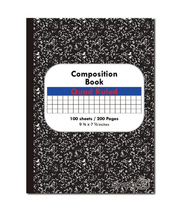 quad ruled composite book 48s