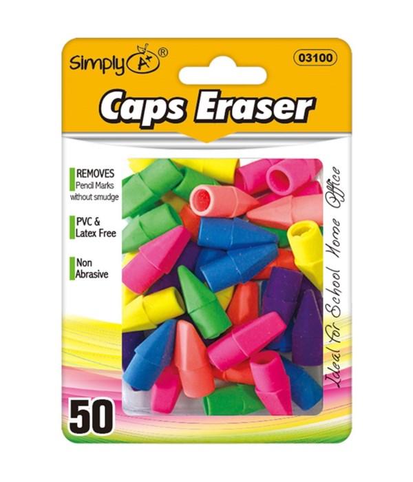 50ct clred eraser top 24/144s