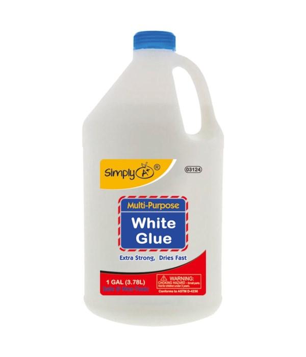 3.78L/1Gallon white glue 4s