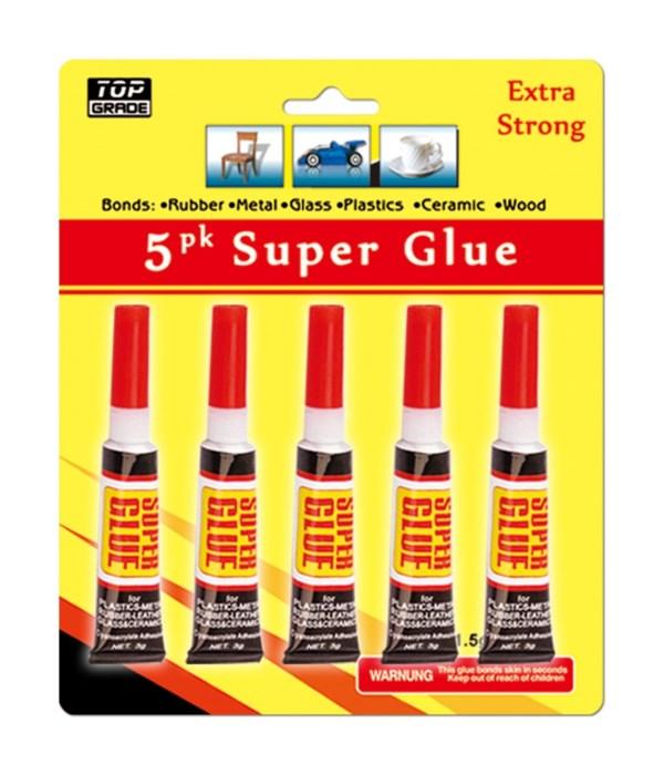 5pc super glue 24/144s