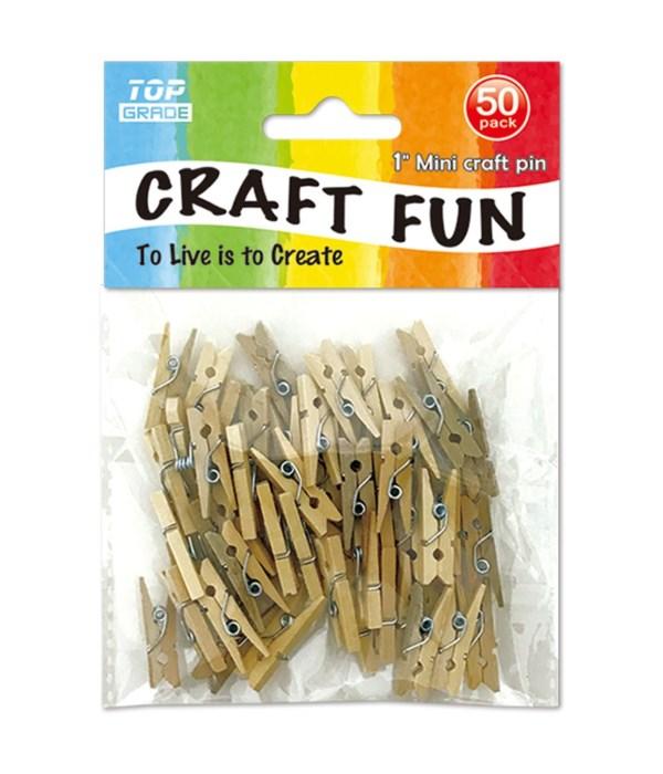 50ct mini craft pin 12/144s
