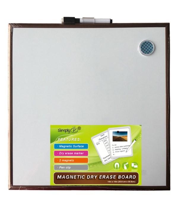 "14x14"" magnetic dry erase tile"