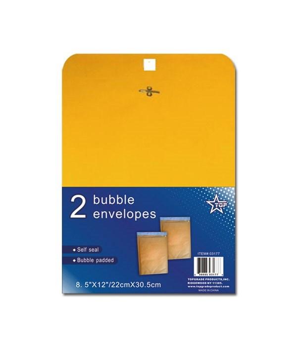 """bubble envelope 8.5x12""""/2ct 48"""