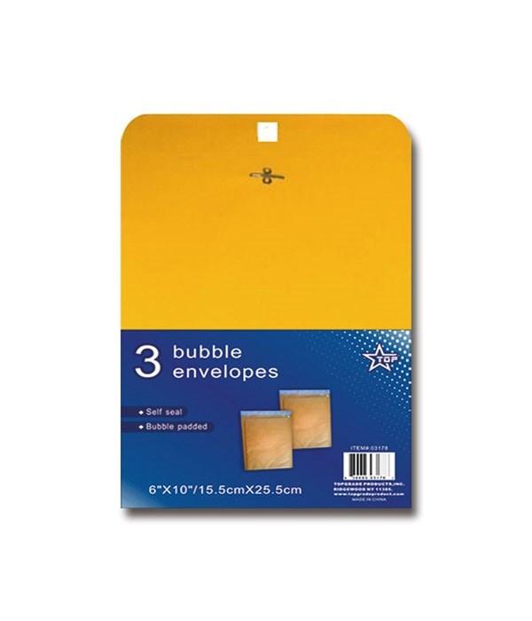 """bubble envelope 6x10""""/3ct 48s"""