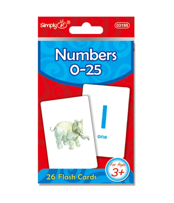 flash card numbers 24/96s