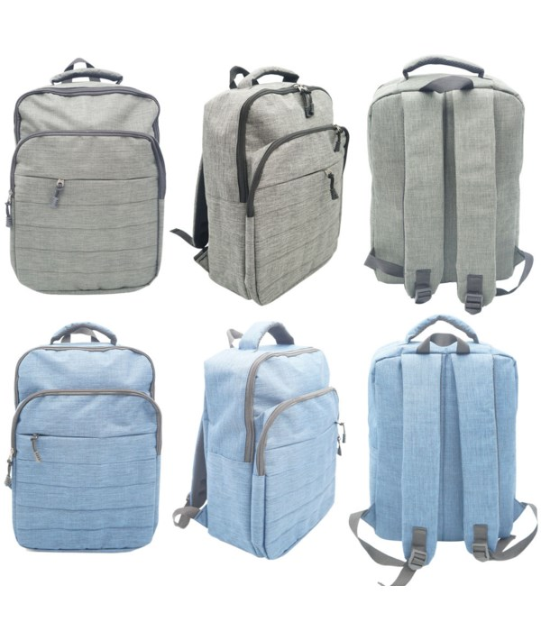 """17""""backpack astd clrs 6/24s"""