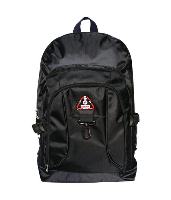 """22"""" backpack blk 12/24s"""