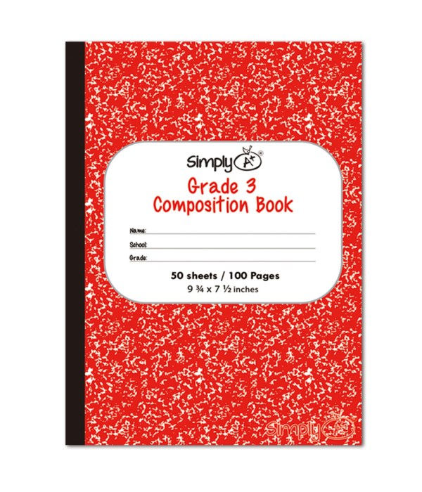 50ct primary composition book