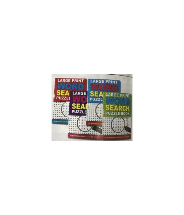word search puzzles book 48s