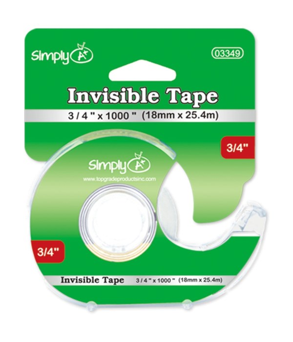 invisible tape 24/96s