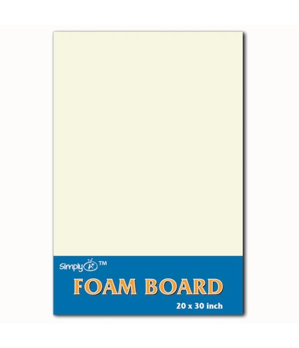 """foam board 20X30""""/white 50s"""