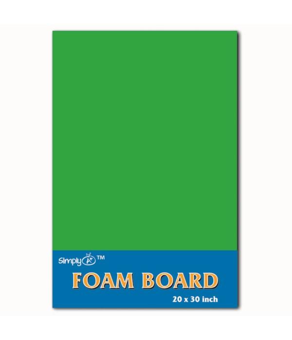 """foam board 20X30""""/green 25s"""