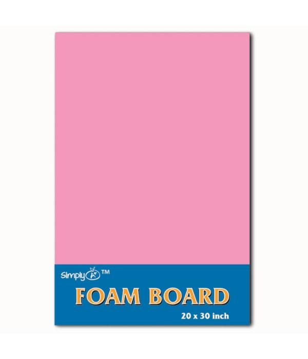 """foam board 20X30""""/pink 25s"""
