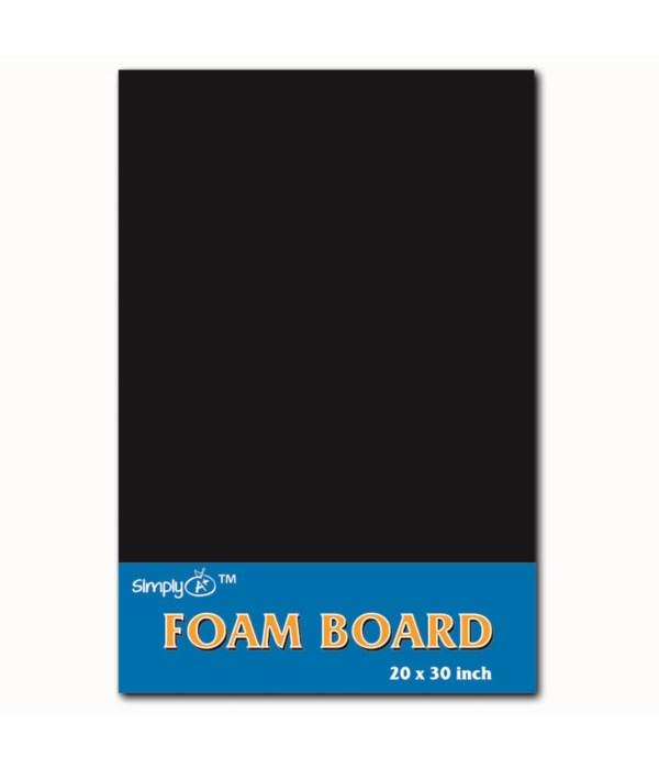 """foam board 20X30""""/black 25s"""