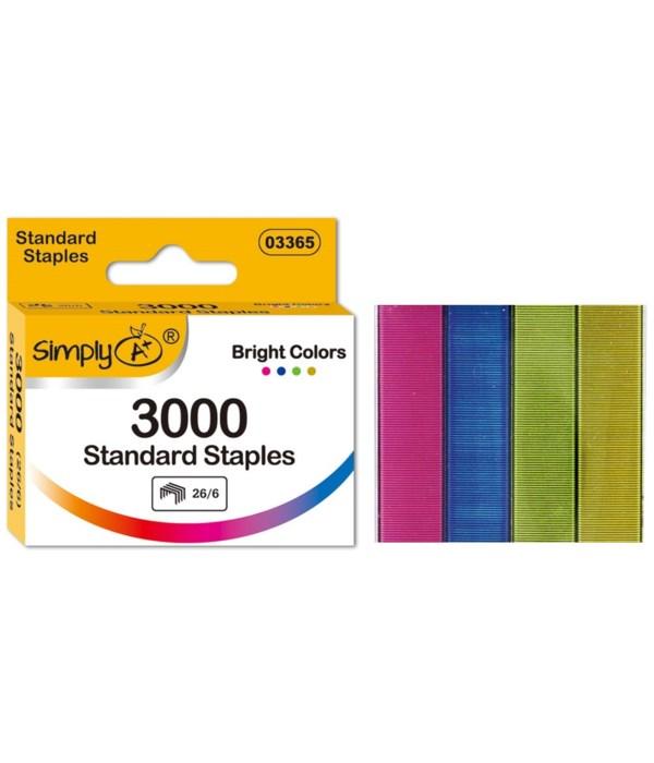 3000pcs Standard staples 24/96