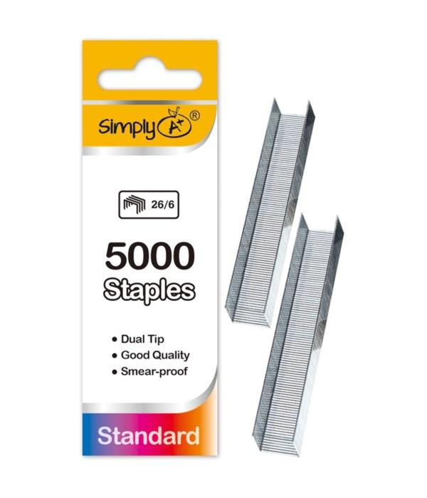 5000ct standard staple 24/144