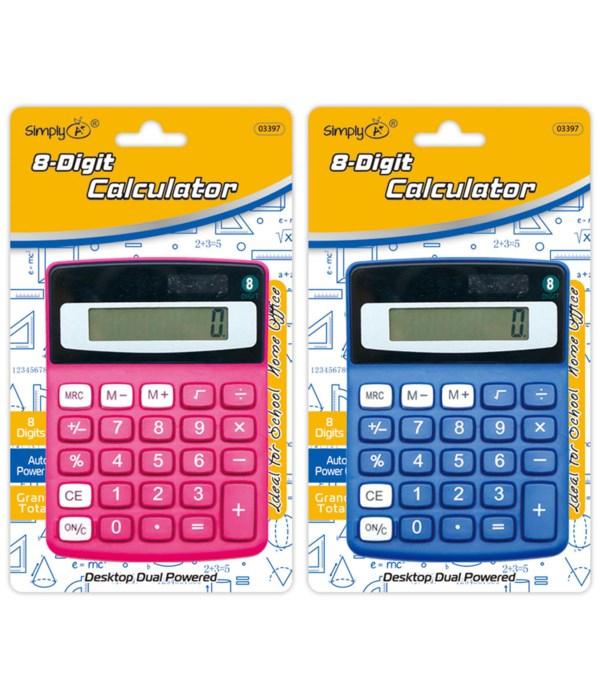 8-digit calculator 24/144s