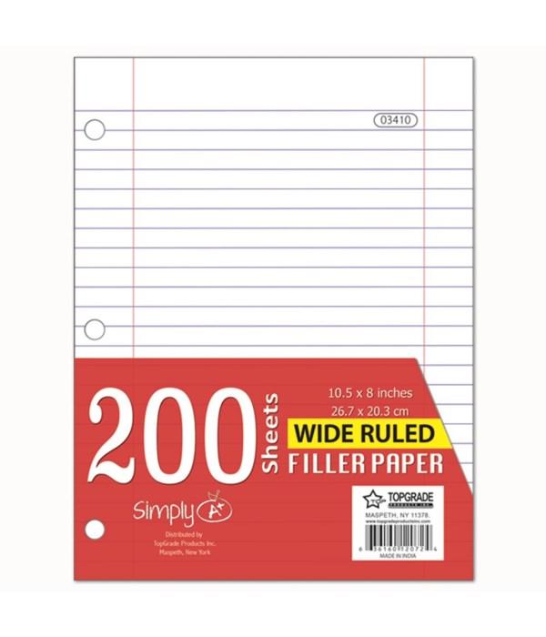 200ct filler paper 24s