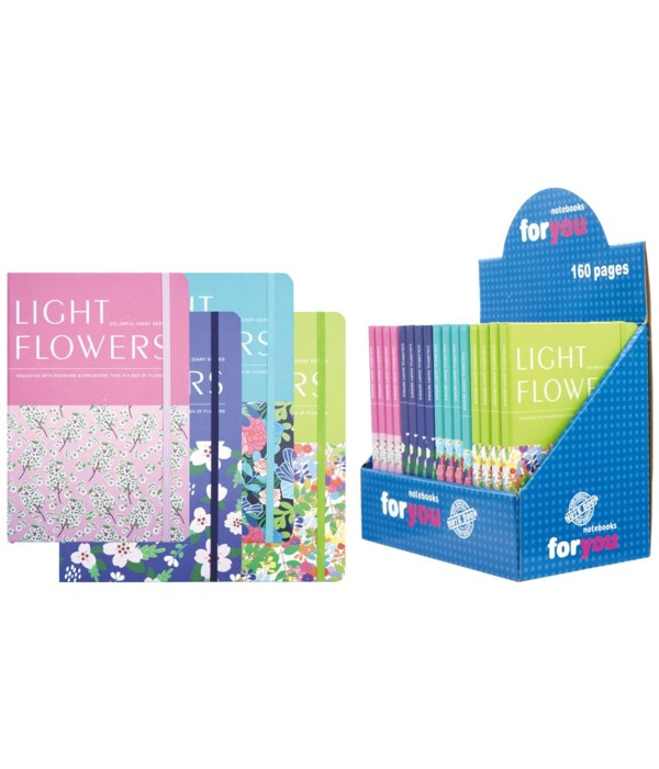 note book flower 16/96s