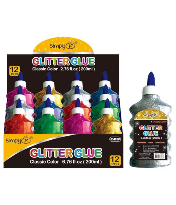 #03483C glitter glue 12/48s