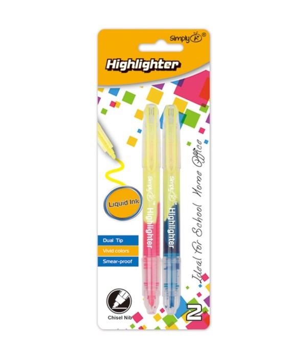 dual tip liquid highlighter