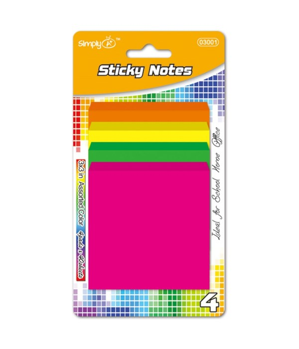 160ct stick-it-on notes 48s