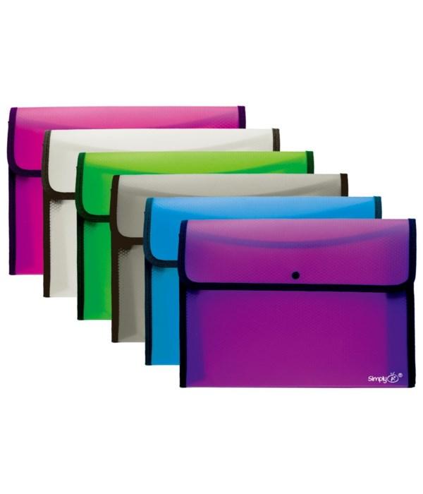 square flap letter size 36/72s