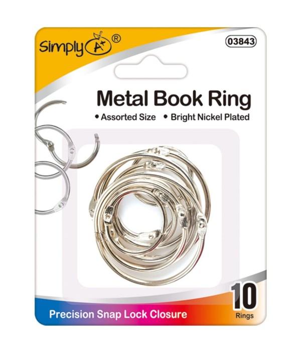 book rings 24/144s
