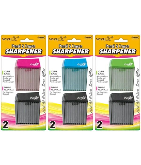 dual blade square sharpener