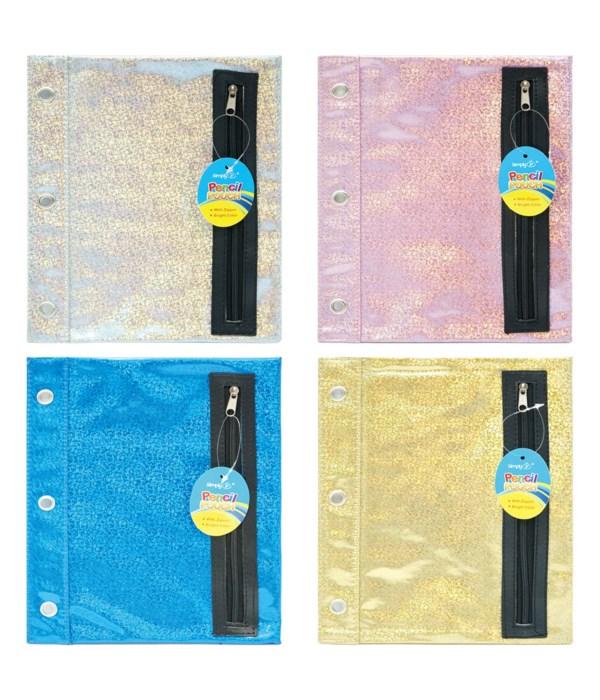 """pencil pouch 9.5x8"""" 48/192s"""