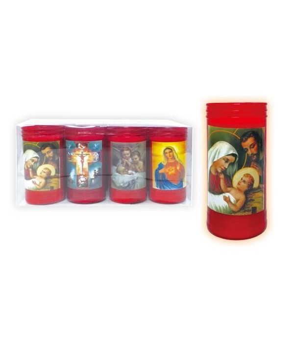 LED religious candle 12/192s
