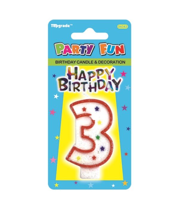 b'day candle #3 24/288s