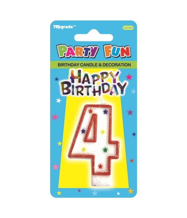 b'day candle #4 24/288s
