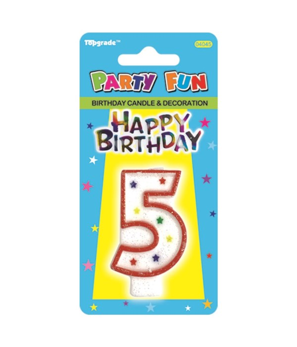 b'day candle #5 24/288s