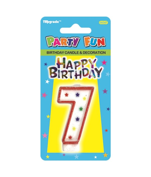 b'day candle #7 24/288s