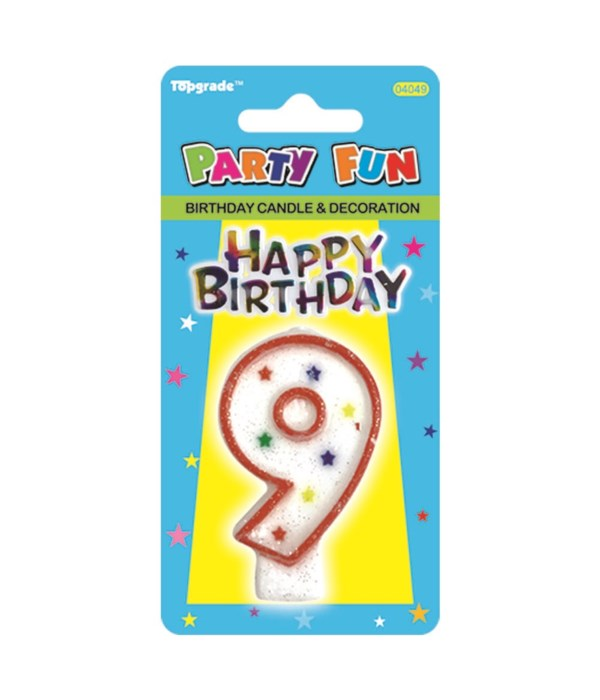 b'day candle #9 24/288s