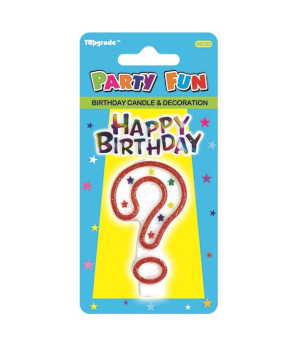 b'day candle #? 24/288s
