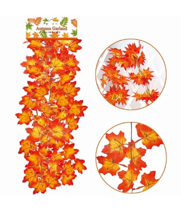 autumn leaves 6.3ft/72s