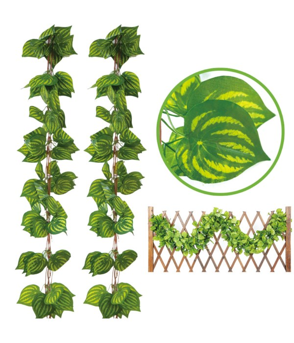 8.3ft leaf garland 70s