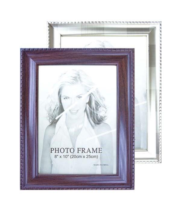 "photo frame astd clr 8x10""/24s"