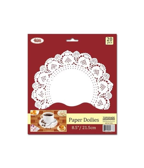 """8.5""""/20ct paper doilie 24/240s"""
