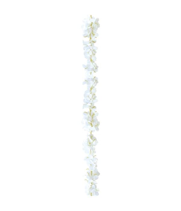 6.6ft flower vine white 6/288s