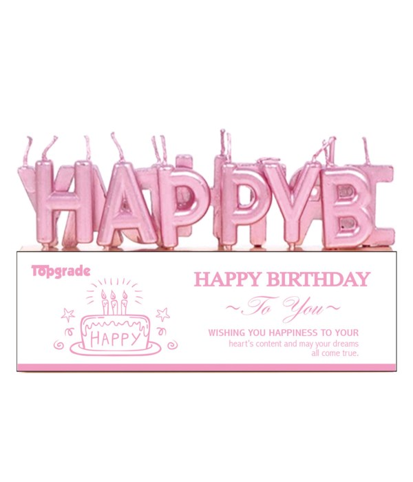 b'day candle/letter PK 36/360s