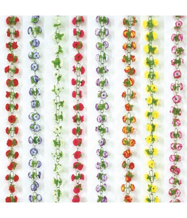 flower garland 6.2ft/72s