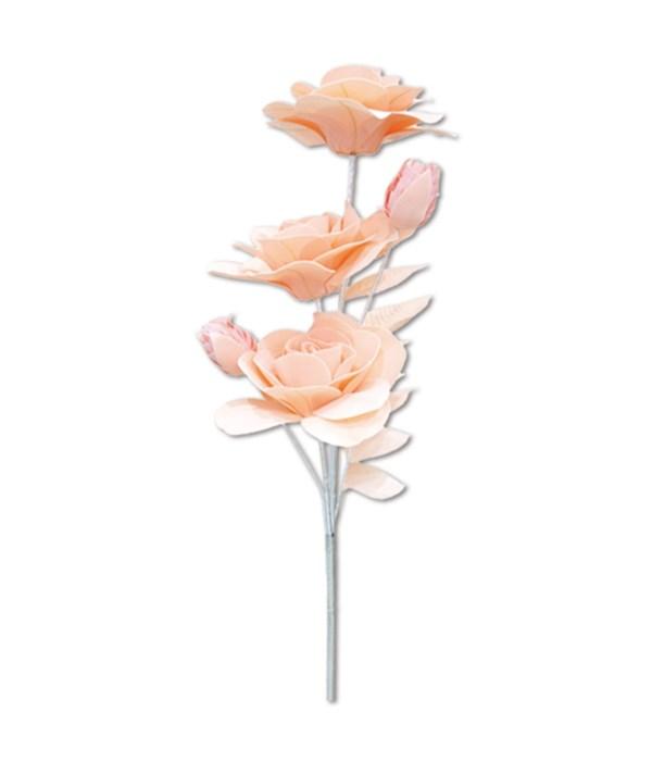 """47""""foam flower peach 24/96s"""