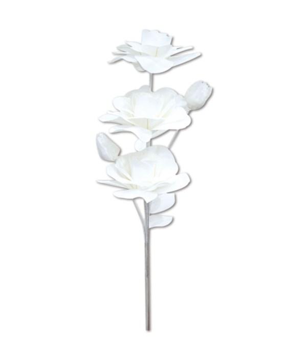 "47""foam flower white 24/96s"
