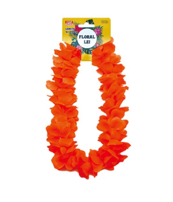 hawaii hula lei orange 12/600s